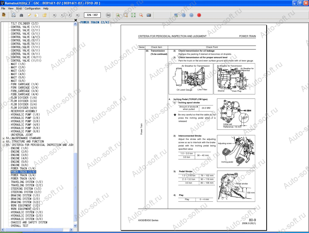 Komatsu Bx50 Forklift Wiring Diagram Library 61 Toyota Industrial E